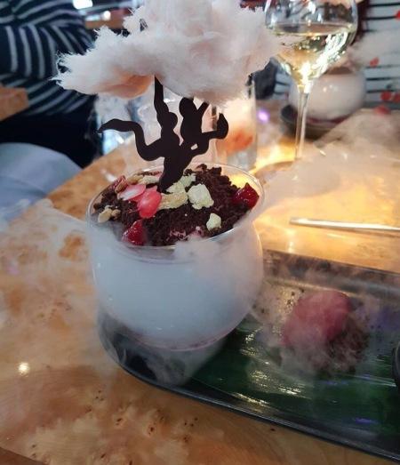 cherry blossom dessert tattu