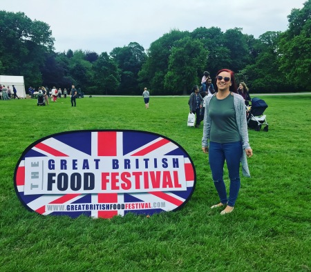 Jen Great British Food Fest