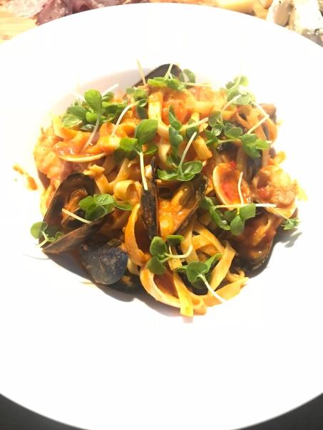 seafood pasta amalfi